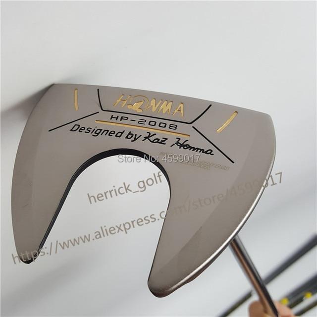 Honma HP 2008 golf putter club golf club alta calidad, cubierta para la cabeza gratis y envío