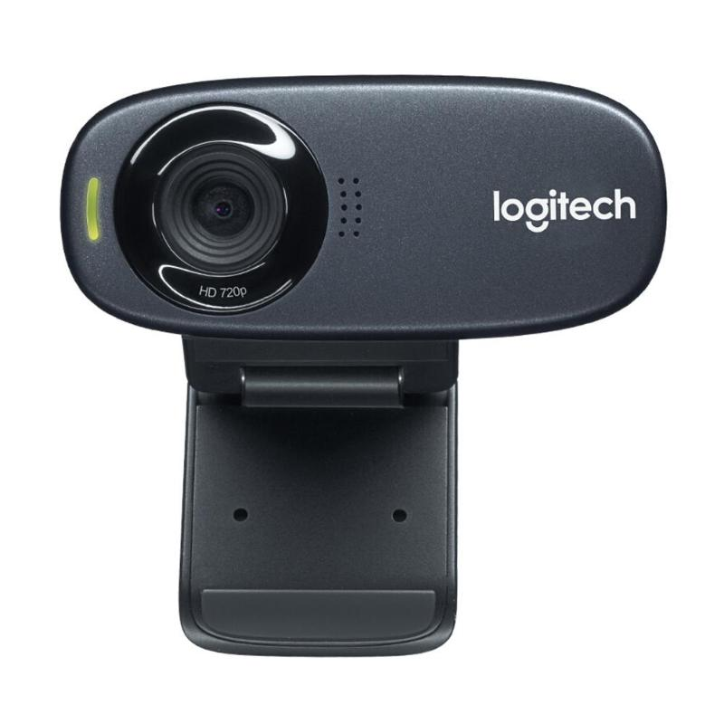 Logitech C310 Webcam 720p 30fps HD USB 2.0 Wired Web Camera Live Conference Video Call Cameras for Laptop Desktop PCLogitech C310 Webcam 720p 30fps HD USB 2.0 Wired Web Camera Live Conference Video Call Cameras for Laptop Desktop PC