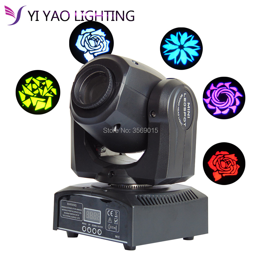 30W Mini Led Moving Head Light with gobo color led stage effecting for dj 30W Mini Led Moving Head Light with gobo color led stage effecting for dj