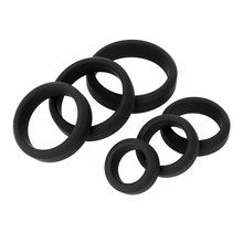 Silicone Cock Ring Delay Ejaculation Sex Toys