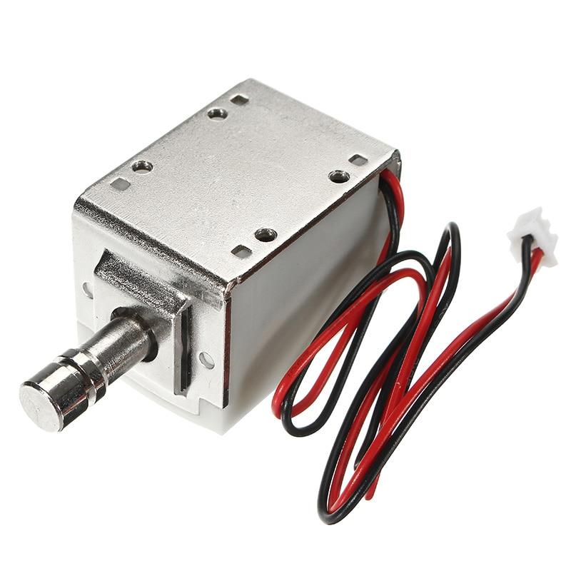 New 12V DC 1.5A Mini Electric Bolt Lock Cylindrical Sauna Cabinet Drawer Solenoid Lock Electromagnetic Locks