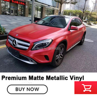 High flexibility Car styling car wrapping foil red Vinyl Film Sticker Foil Car Body Wrapping Self adhesive