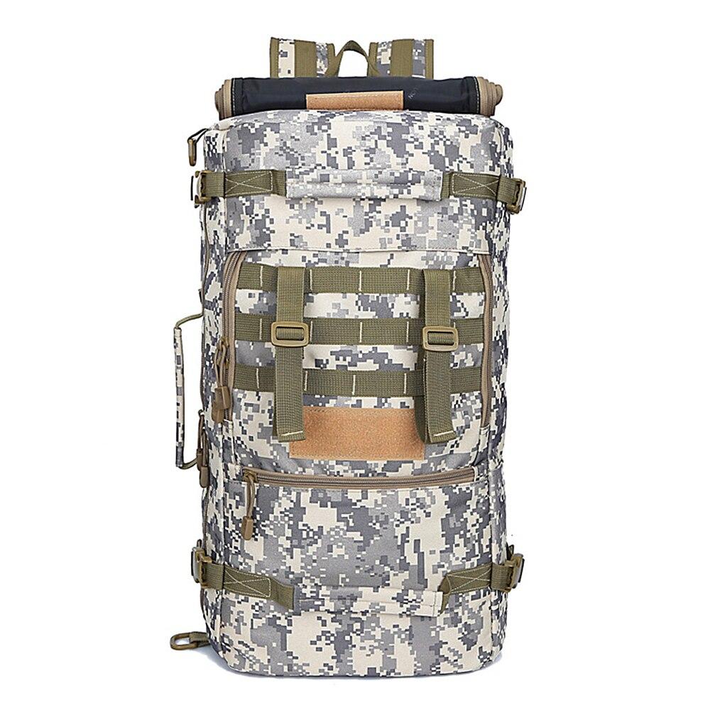 50L sac à dos extérieur respirant imperméable tactique grande capacité sac de voyage sac à dos sac à dos de voyage pour la formation de randonnée