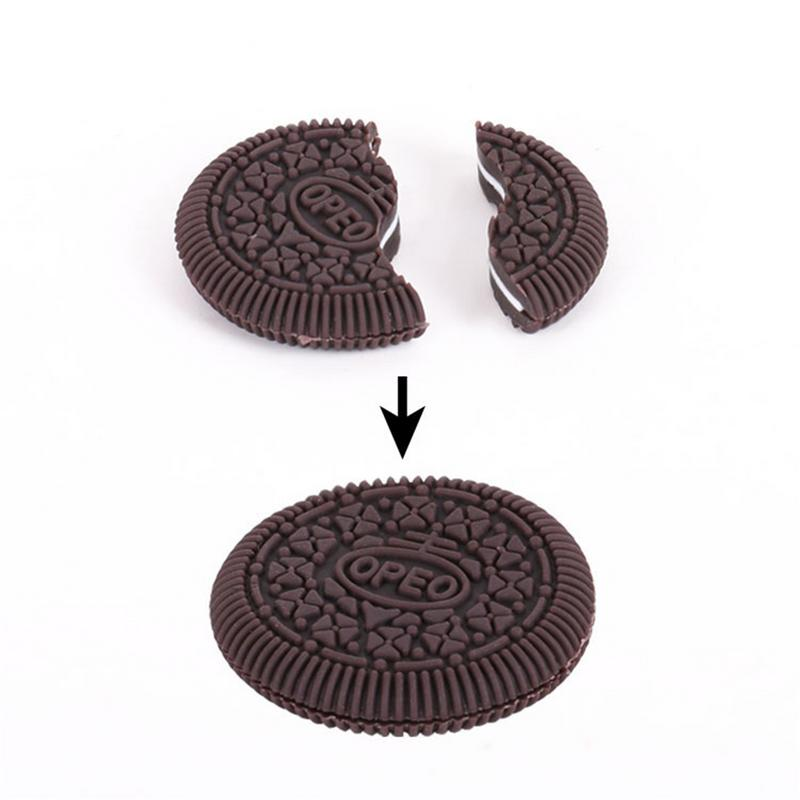 Magic Close-Up Cookie Street Trick Biscuit Bitten And Bite Restored Gimmick OREO