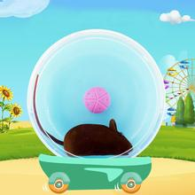 Симпатичные упражнения колеса ролик Тихая спортивная игрушка для домашних животных для хомяка