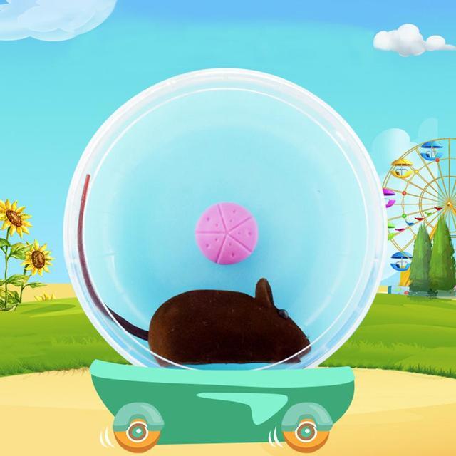 Милые Упражнение ролика колеса Silent спортивные любимая игрушка для хомячка