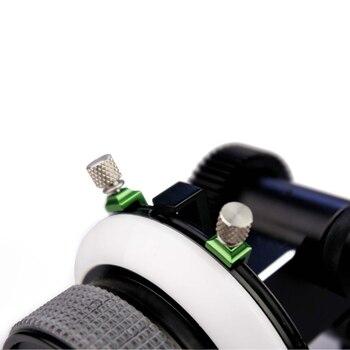 Perno de parada de tornillo LanParte plateado para FF-02 Enfoque de seguimiento (1 pieza)