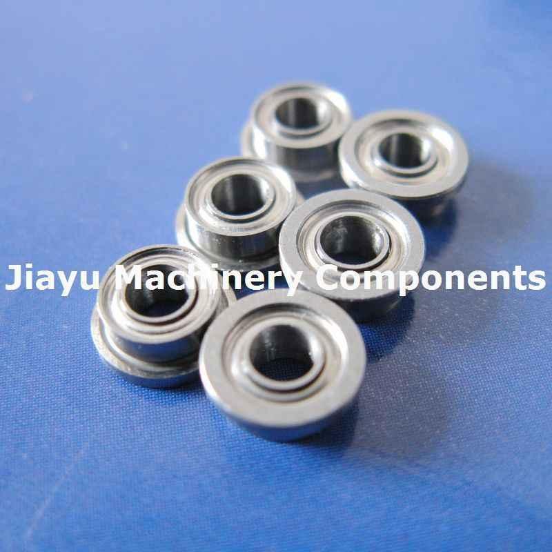 "SFR168zz Stainless Steel FLANGED Ball Bearing FR168 1//4/"" x 3//8/"" x 1//8/"" 25PCS"