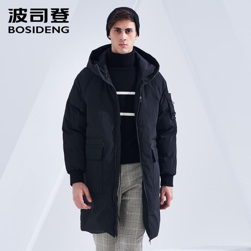Bosideng 새로운 겨울 다운 코트 남성 다운 재킷 긴 파카 겨울 thicken outwear 후드 방수 b80141501ds-에서다운 재킷부터 남성 의류 의  그룹 1