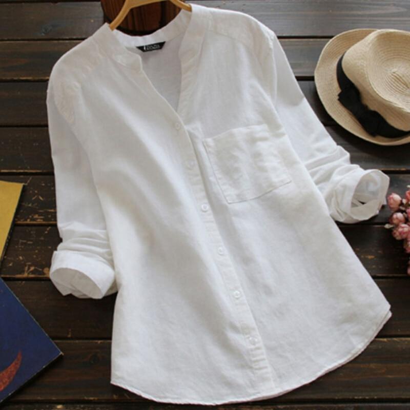 79908eb1530c V Neck Long Sleeve Shirt Women Casual Loose Baggy Tunic Tops Ladies TShirt  Womens Blusas T ...