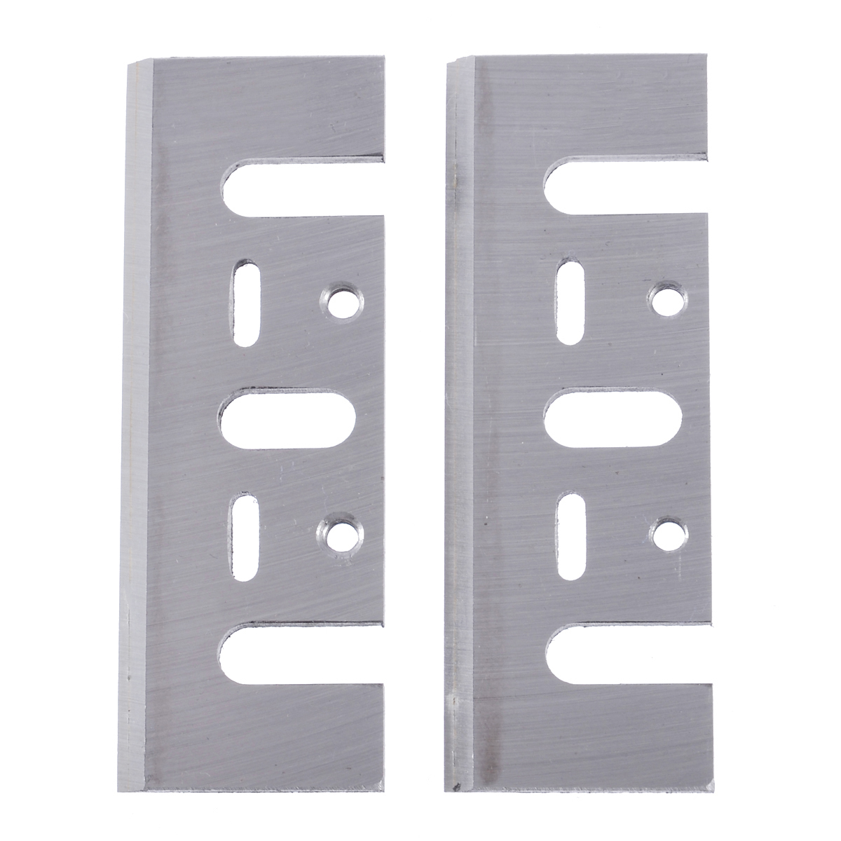 2pcs Electric Planer Blades Power Tool Part Replacement Fits Woodworking Planer Blades Power Tools Accessories Mayitr