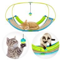 Cat Toy Hammock Swinging Pet Sofa Cat Cradle Bed With Bell Ball Multifunctional Cat Suspended Bed Pet Supplies Fast delivery