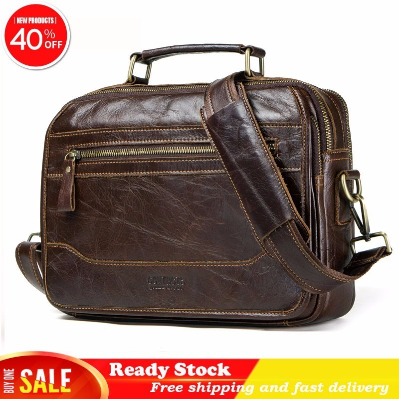 Luxury brand Genuine messenger bag men Leather Man Single Shoulder Package Head Layer Cowhide Oblique Wind Satchel briefcase hotLuxury brand Genuine messenger bag men Leather Man Single Shoulder Package Head Layer Cowhide Oblique Wind Satchel briefcase hot