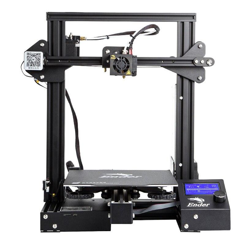Creality 3D Ender-3 Pro высокая точность 3d принтеры DIY Kit сталь рамки ЖК дисплей