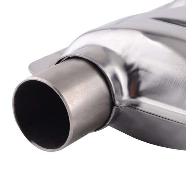 Espeeder 60cm Stainless Steel Car Exhaust Pipe Gas Vent Hose Diesel