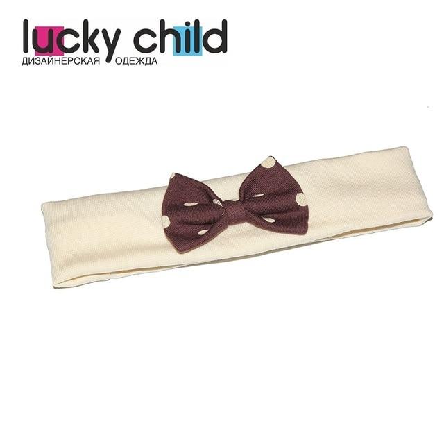 Шапочка Lucky Child (повязка) для девочек