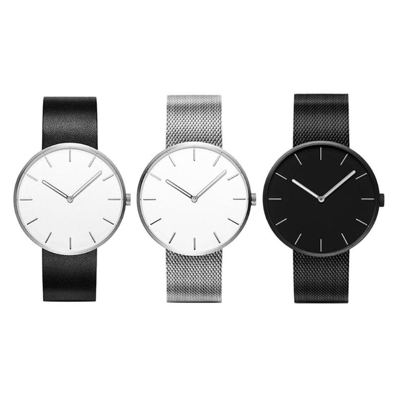 Quartz Couple Watch Fashion Women Men Watch Lover's Gift Clock Boys Girls Wristwatch