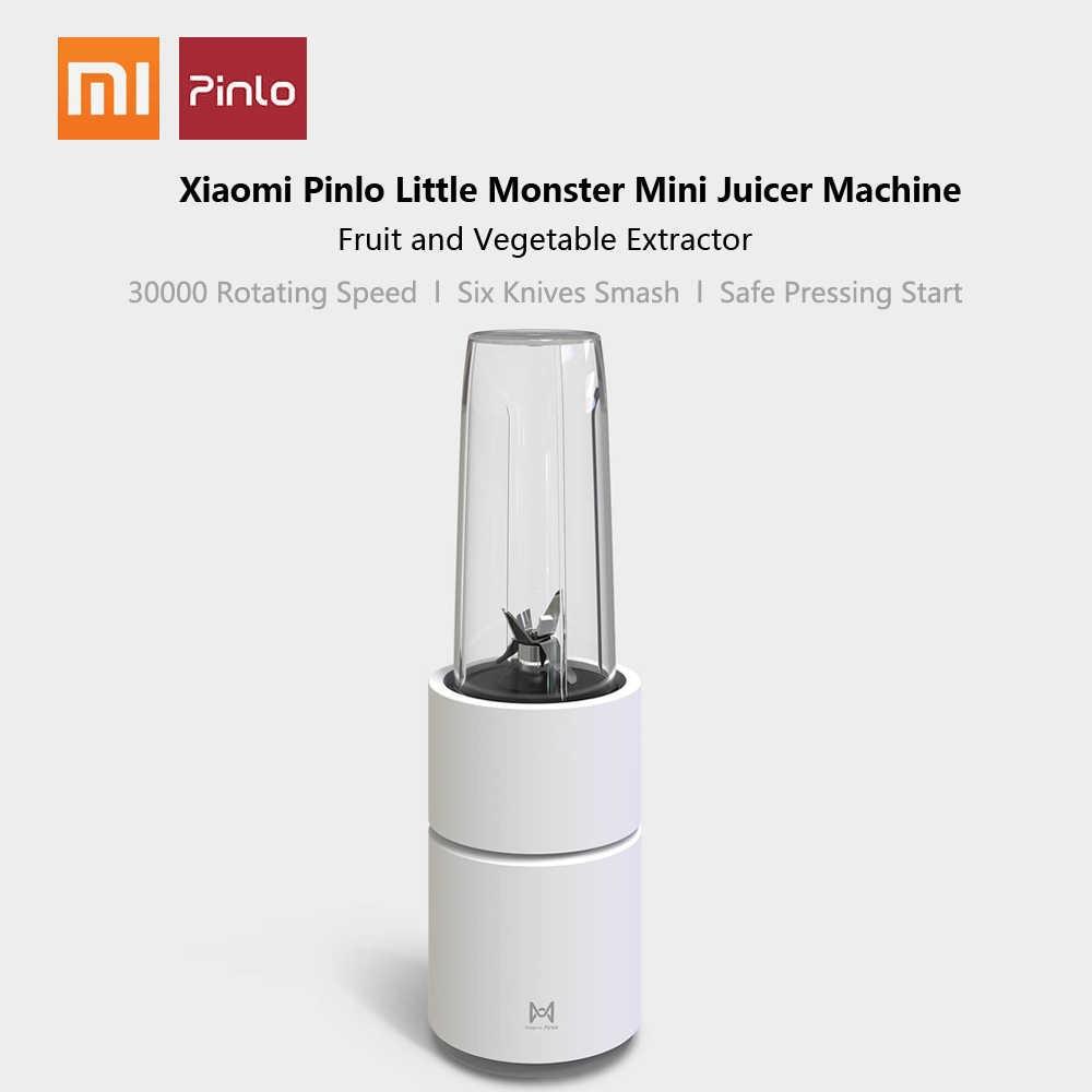 Xiaomi pinlo liquidificador de alta velocidade mini portátil juicer frutas vegetais misturador soja triturador gelo moedor carne processador alimentos