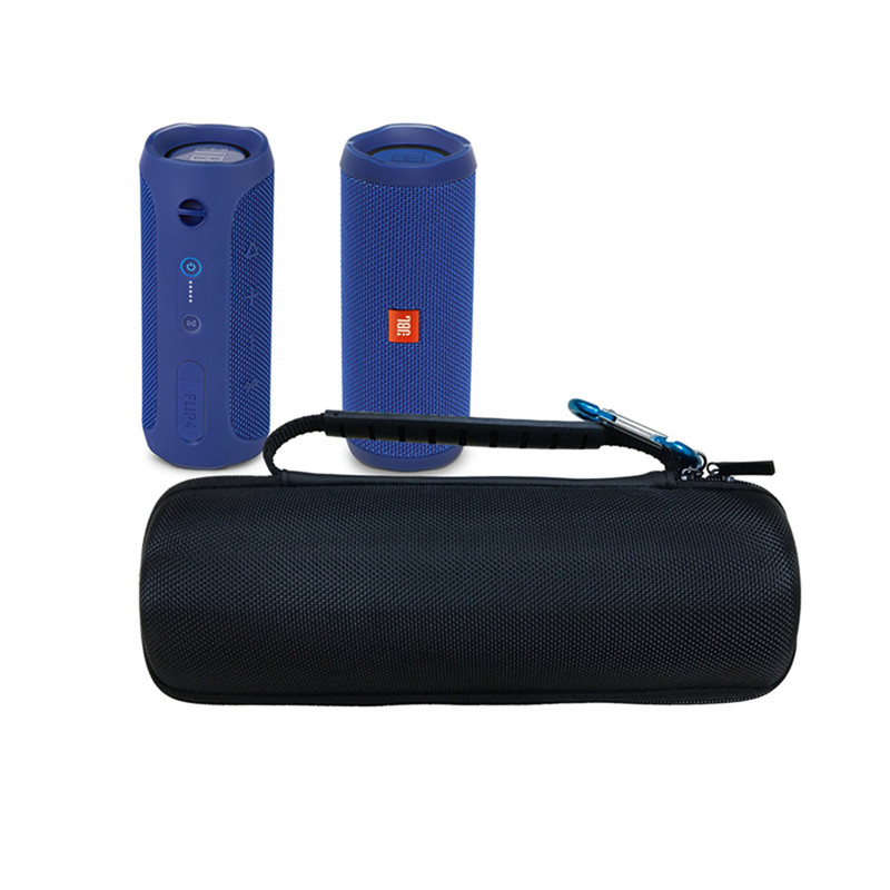Hard Case Travel Carrying Storage Bag For JBL Flip 4 / JBL Flip 3 Wireless Bluetooth Portable Speaker Fits USB Cable And Wall