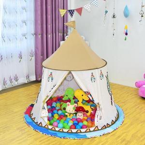 Image 1 - Kid Teepee Casa Tenda 123*116cm Portatile Princess Castle Regalo Per I Bambini I Bambini Giocano Tenda del Giocattolo Di Compleanno Di Natale regalo