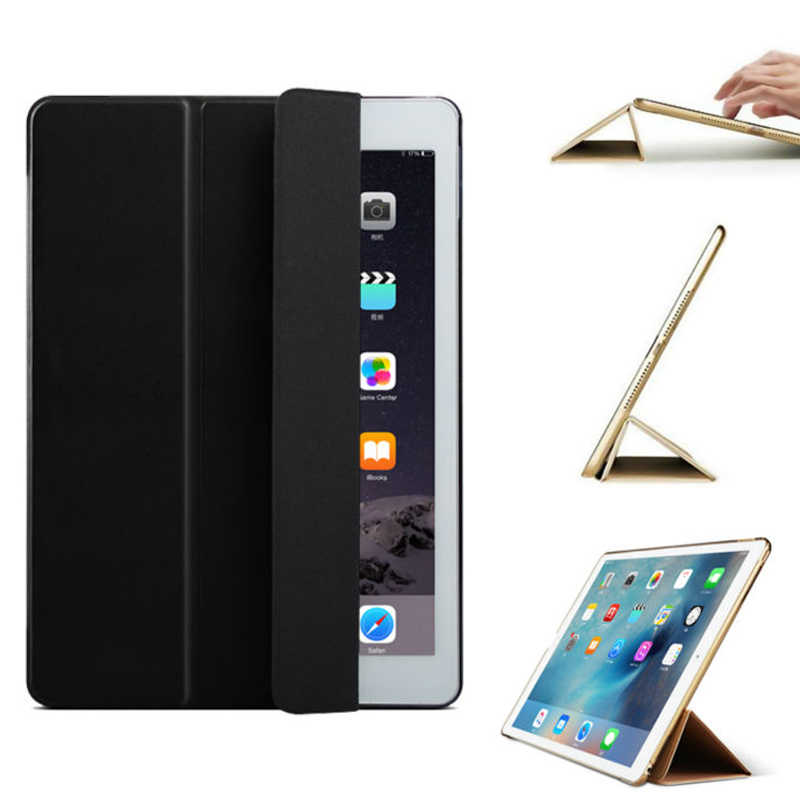 Protective Smart Cover for Apple iPad 6 2018 6th A1893 A1954 fundas PU Leather Auto Wake Sleep Tablet Case for iPad6 Flip Coque