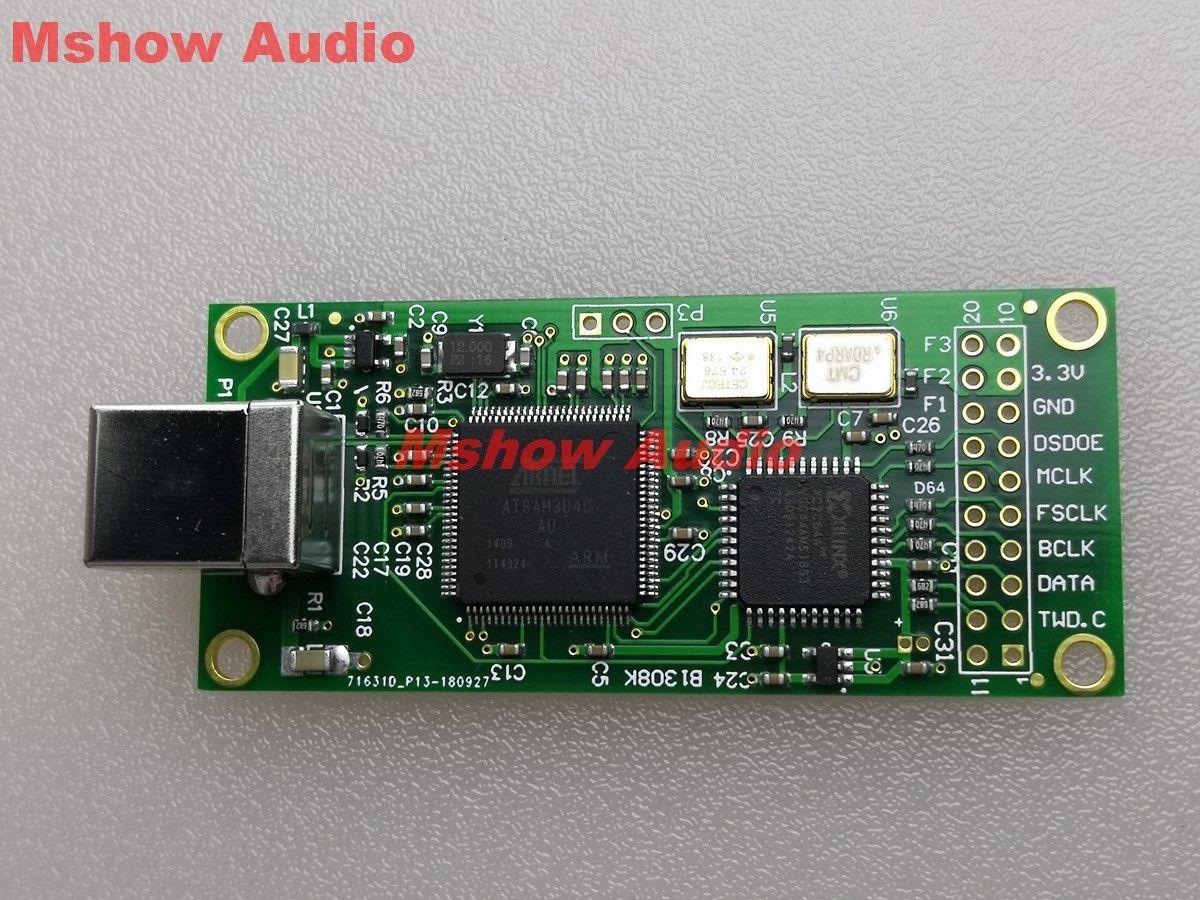 Amanero USB interface numérique USB vers I2S DSD convertisseur USB CPLD 384K DSD512