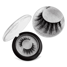 SHIDISHANGPIN natural false eyelashes 1 pair 3d fake hand made box mink customize