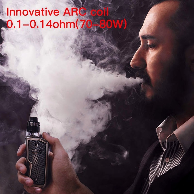 Cigarette électronique Squonk Aspire Feedlink Vape Kit avec 7ML Silicone bouteille 510 Mod et 2ML Revvo Boost réservoir utiliser 18650 batterie - 6