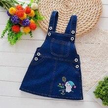 Baby Dress Girls Summer Jeans Children Cowboy Dress
