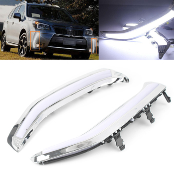 Daytime Running Light LED DRL fit for Subaru Forester 2013 Exact Installation