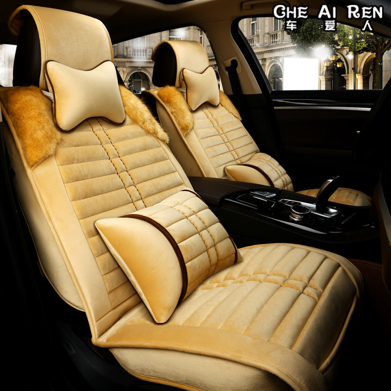 TO YOUR TASTE universal car seat cushion for VOLVO S40 S80L S80 XC60 C30 C70 XC90 V60 V40 S60L XC-Classic auto accessories thick