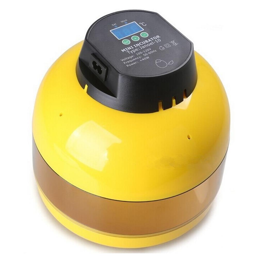 Haushaltsgerät Teile Selbstlos Temperatur Control Automatische Ente Hatcher Geflügel Huhn Ei Inkubator Mini Ei Brut Maschine Inkubatoren Schlüpfen Eier