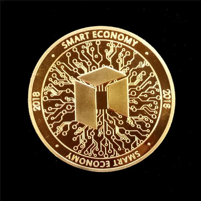 NEO Coin Virtual Metal Commemorative Coin NEO Virtual Coin Bitcoin Commemorative Coin Customized Medal Giveaway 2