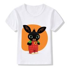 Cartoon Bing Rabbit bunny T-shirts Kids Summer