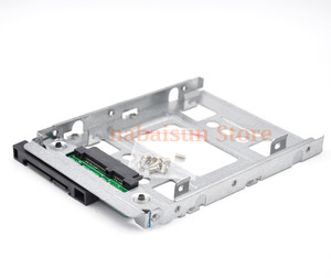 """Image 3 - Bandeja de adaptador de disco duro SSD SATA de 2,5 """"a 3,5"""", microservidor 654540 001 para G10 774026 001 651314 001 Gen8/gen9 N54L N40L N36 x7k8w"""