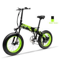 Daibot складной Электрический Скутер 2 колеса 20 дюймов Fat e велосипед зимний электровелосипед 48 в 500 Вт Скрытая батарея электровелосипед велоси