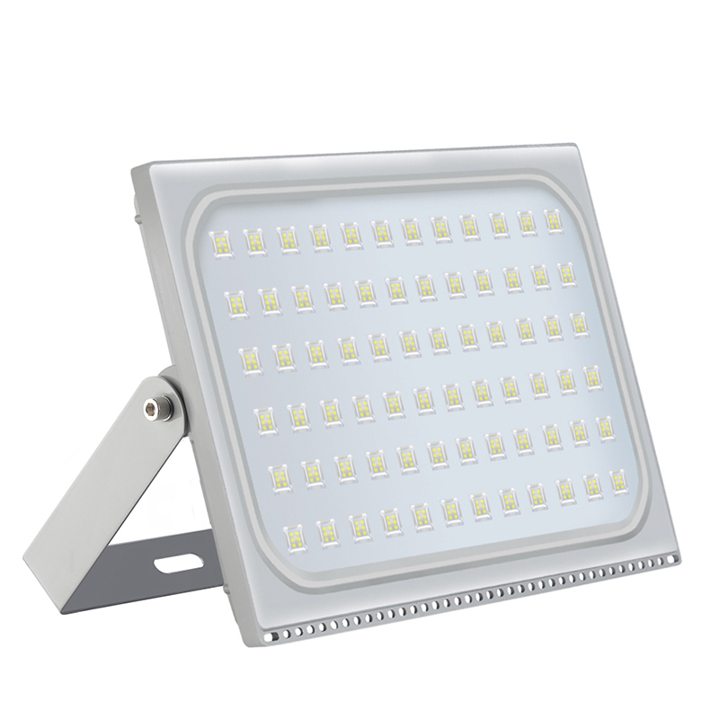 2PCS Ultra-thin LED Floodlight 500W 220V Waterproof LED Flood Lights Reflector Led Spotlight Outdoor Street Lighting IP65