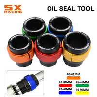 40 50MM CNC Fork Front Shock Absorber Oil Seal Tooling Bushing Driver Install For KTM SX XC EXC XCW XCF XCFW 150 250 350 450 530