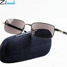 Zilead сверхлегкие мужские солнцезащитные очки для чтения, мужские бизнес HD очки для вождения, очки для дальнозоркости, диоптрии+ 3,5 унисекс