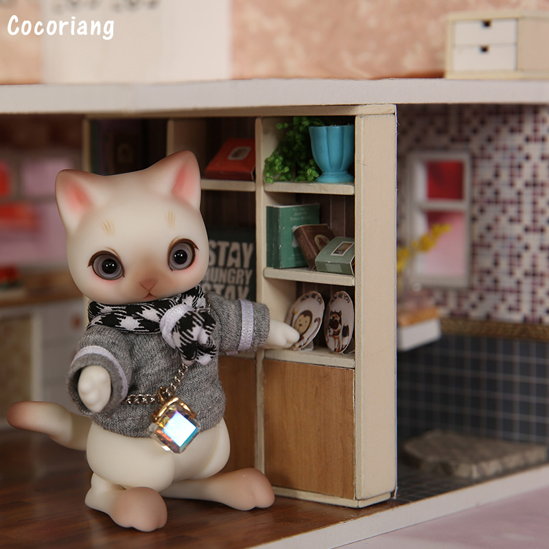 New Arrival OUENEIFS Cocoriang Mocka BJD SD 1 12 Resin Body Model Children Doll High Quality