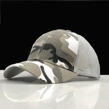 Summer New Camouflage Baseball Cap Fashion Sport Mesh Caps Men Women Outdoor Snapback Cap Bone Breathable Hat Sun Hat цена в Москве и Питере