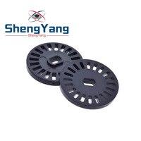 Codificador de disco codificado ShengYang 20, compatible con Sensor de velocidad de Motor para Robot, prueba de velocidad para arduino, 10 Uds.