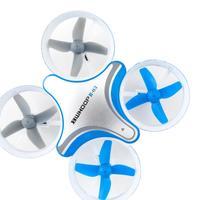 BoldClash BWHOOP B03 Altitude Hold 716 53500rpm(3.7 V) Motor EDF RC Quadcopter 260mAh 3.7V Blue Overseas Warehouse Free Shipping