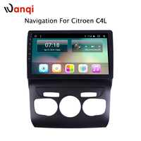 10.1 inch android 8.1 For Citroen C4L 2013 2017 car radio gps multimedia navigation system with SWC Canbus bluetooth