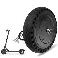 Solid Electric Scooter Tire Shock Absorption Tires For Xiaomi Mi Electric Tire 8.5 Inches Honeycomb Wheel NPT Scooter Attachment