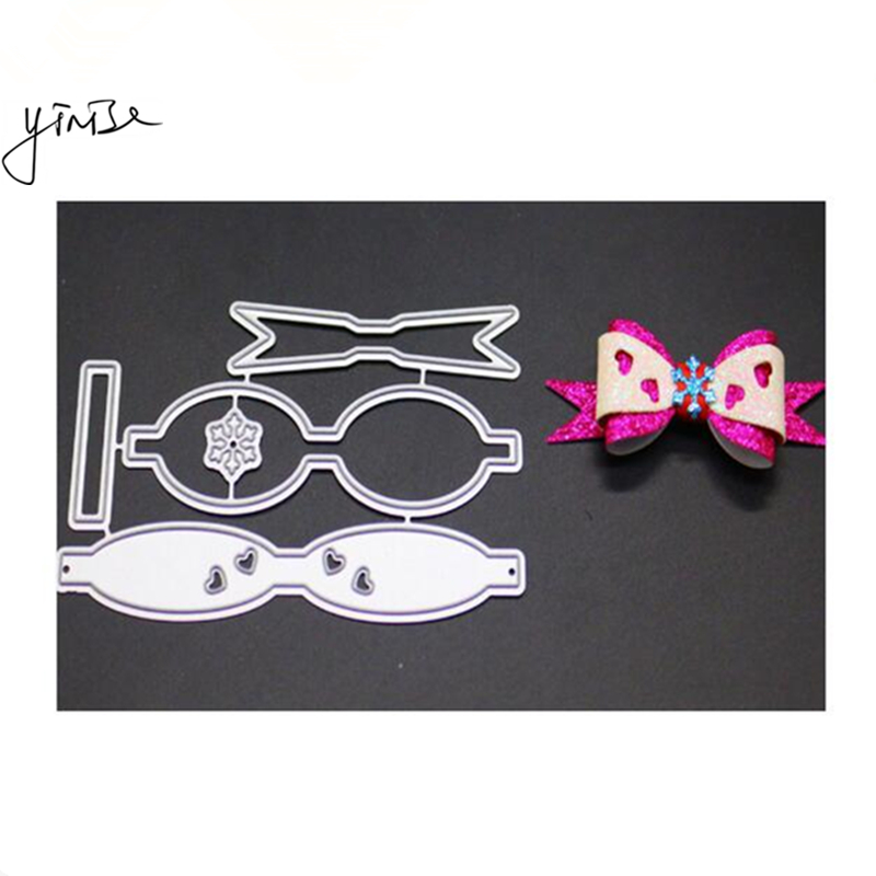 VCD51 BOW CUT SCRAPBOOK Metal Cutting Dies For Scrapbooking Stencils DIY Album Cards Decoration Embossing Folder Craft Die Cuts in Cutting Dies from Home Garden