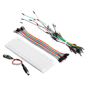 Image 3 - Electronic Components Junior Starter Kits With Resistor Breadboard Power Supply Module For Arduino With Plastic Box Package