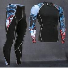 Высокое качество, новое термобелье, мужское нижнее белье, комплекты компрессионного флиса, быстросохнущее термобелье, мужская одежда