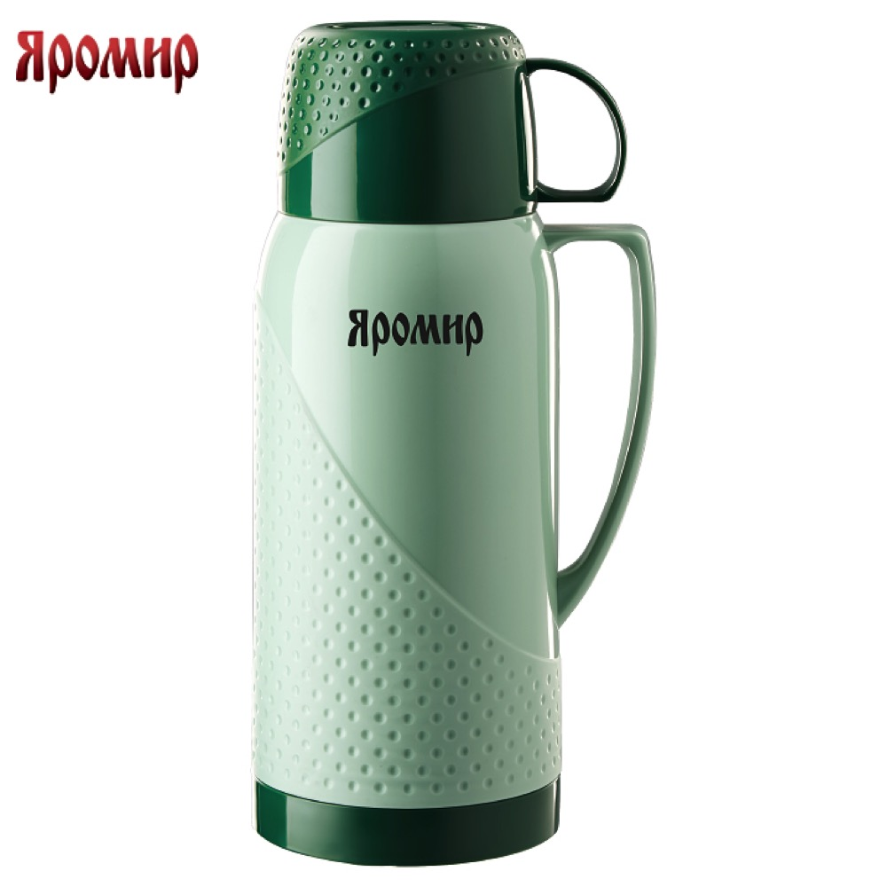 Vacuum Flasks & Thermoses Yaromir YAR-2022C Green thermomug thermos for tea Cup stainless steel water new safurance 200w 12v loud speaker car horn siren warning alarm stainless steel home security safety