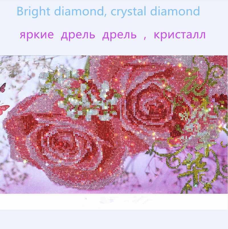 2019 bán 5D pha lê Tranh Gắn Đá DIY kim cương Tranh thêu chữ thập thời trang trí nhà đặc biệt hình kim cương khảm Tặng